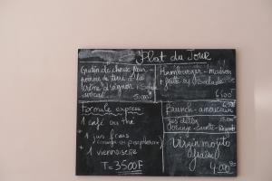 Aroma Coffee & Cake Menu - Women's Day