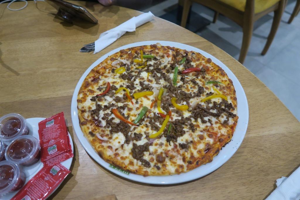 Pizza Time in Dakar