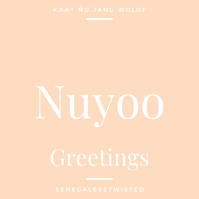 Nuyoo - Greetings